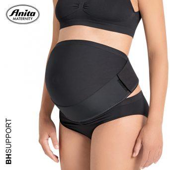 Door het dragen van deze zwarte Anita buikband 1708 ga je rug- en bekkenpijn tegen en herstel je sneller na je zwangerschap.