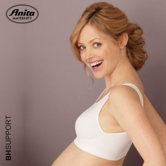 Witte Anita seamless zwangerschapsbh 5100 zonder beugel die meegroeit!