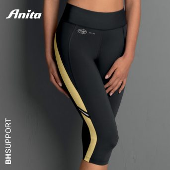 Hoog kwalitatieve sport tight Anita Active in kleur yellow antraciet
