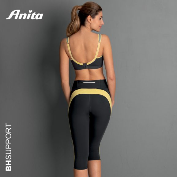 Sport tight in yellow antraciet van het merk Anita Active