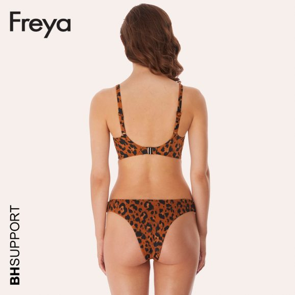 Freya swim Idol voorgevormde bikini top Roar Instinct is verkrijgbaar in omvangsmaten 60 t/m 85 en cupmaten C t/m L.