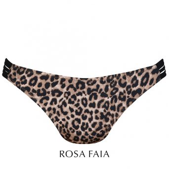 Rosa faia bikini broekje Animal safari - Bree