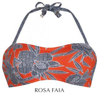 Rosa faia Bahia floral bandeau met beugel, niet-voorgevormd 'Bella'