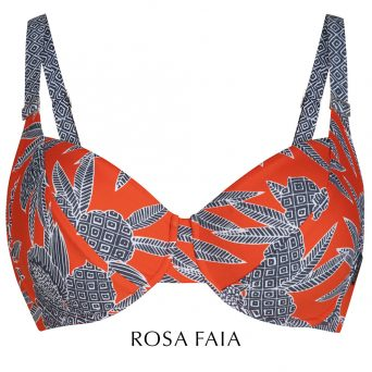 Rosa faia Bahia flora bikini met beugel, niet-voorgevormd 'Rubina'