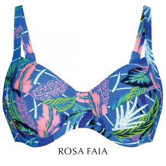 Rosa faia Laguna BIG CUP bikini met beugel, niet-voorgevormd 'Sibel'.