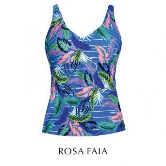Rosa faia Laguna tankini zonder beugel, niet-voorgevormd 'Noemi'.