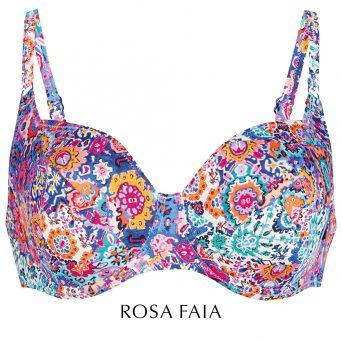 Rosa faia Summer stories big cup bikini met beugel, niet-voorgevormd 'Federica'.