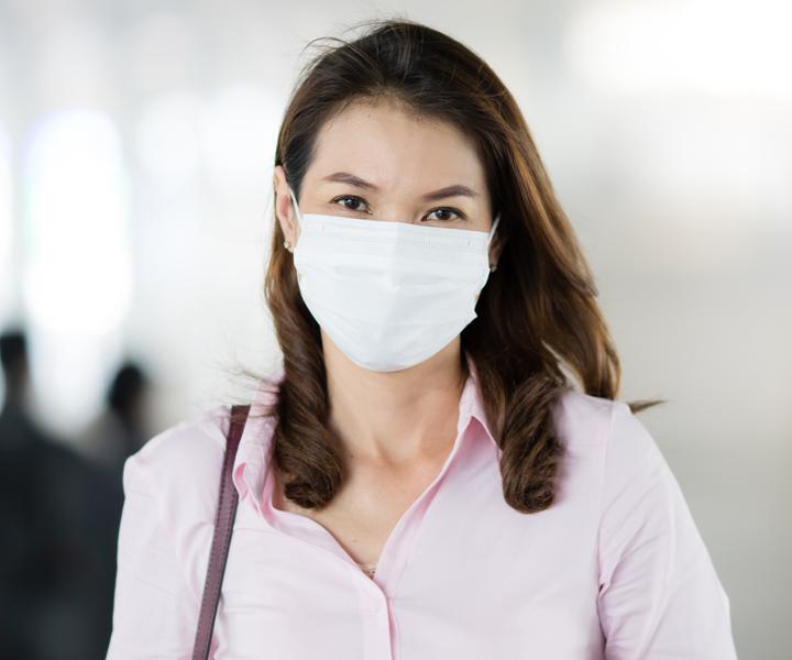 De wasbare, niet-medische mondkapjes van Anita