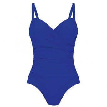 Anita badpak met beugel, niet-voorgevormd 'Tilda' in ocean blauw.