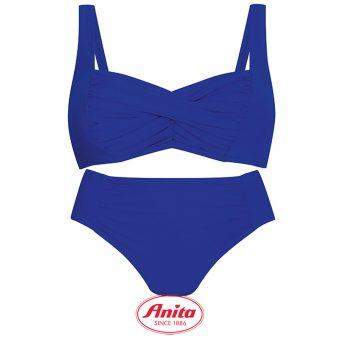 Anita big cup bikini zonder beugel, niet-voorgevormd 'Elle' in ocean blauw.