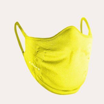 Het innovatieve UYN mondkapje past perfect rond de mond en neus en zorgt voor een ergonomische afdichting aan de randen.