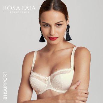 Rosa Faia Antonia balconette bh met beugel, niet-voorgevormd in de kleur crystal.