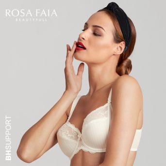 Rosa Faia Antonia bh met beugel, niet-voorgevormd in de kleur crystal.
