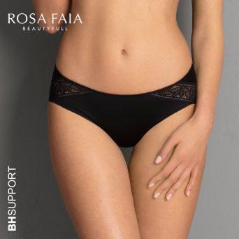 Rosa Faia Selena slip in zwart.