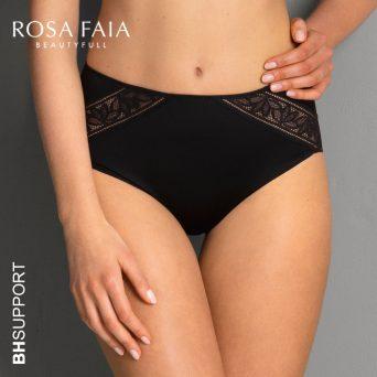 Rosa Faia Selena tailleslip+ in zwart.