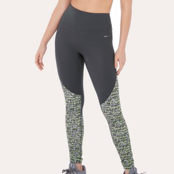 Freya Kinetic sportlegging 'Lime twist'.
