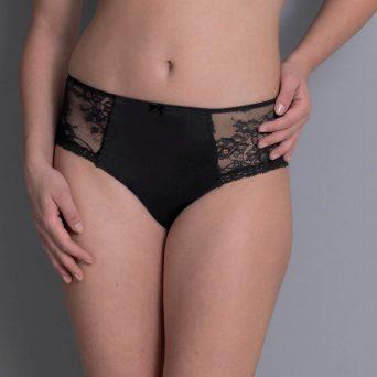 Rosa Faia abby tailleslip plus in de kleur zwart.