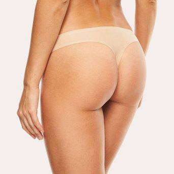 Chantelle softstretch string in de kleur nude.