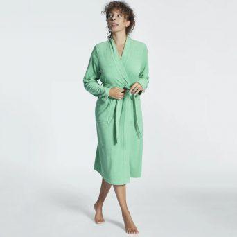 TAUBERT Travel badjas midi 'soft green'.