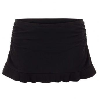 Rosa faia Mix & Match bikini rokje met slip 'Kiki' zwart .