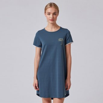SKINY Tiener nachthemd voor meisjes 'Palm Tree'