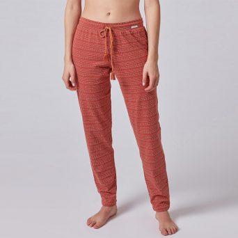 SKINY Tiener pyjama broek voor meisjes 'Sundown' print