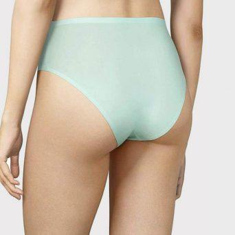 CHANTELLE SoftStretch multipack 'Nile green' met top en bijpassende slips.