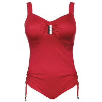 Ulla saint tropez badpak in de kleur rood.
