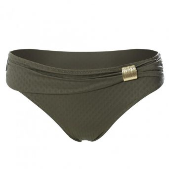ULLA St. Tropez bikini broekje 'Olive'.
