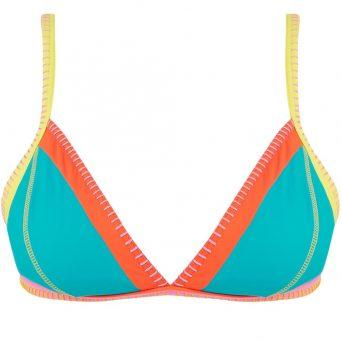 BANANA MOONTeknicolo triangel bikini Taeko zonder beugel, uitneembare vulling 'Caraibes'