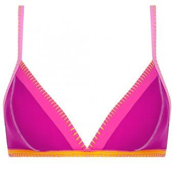 BANANA MOONTeknicolo triangel bikini Taeko zonder beugel, uitneembare vulling 'Cyclaam'
