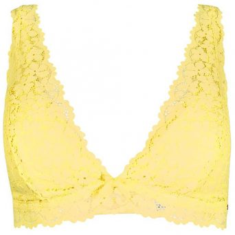 SKINY Dreamy lace soft bh zonder beugels, verwijderbare pads 'lemon'
