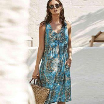 DAVID Marrakech jurk 'Formentera'