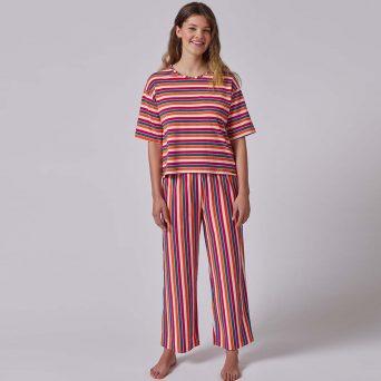 SKINY Every night in Skiny 01 Lange pyjama 'Bold stripes'