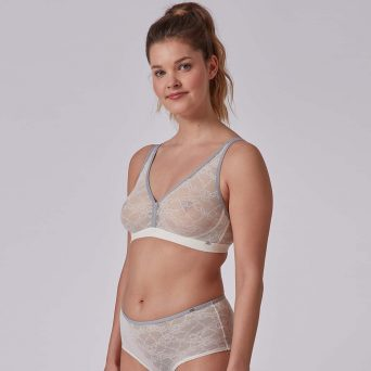 SKINY Every day in lace flower Soft bh 'Whisper white'